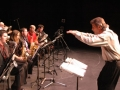 Gunnar conducting palomar big band