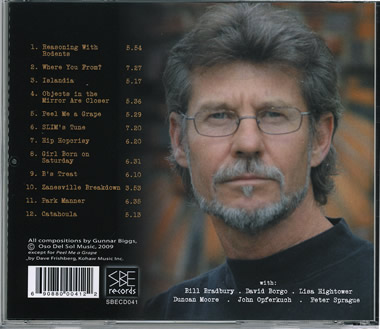footprint cd back cover